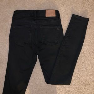 "Madewell Jeans - Madewell 9"" high-rise skinny jeans size 25 Tall"